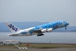TK0528さんが、中部国際空港で撮影した全日空 A380-841の航空フォト(写真)