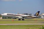 ひろえもんさんが、福岡空港で撮影したシンガポール航空 A330-343Xの航空フォト(写真)