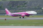 pringlesさんが、長崎空港で撮影したピーチ A320-214の航空フォト(写真)
