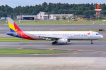 delawakaさんが、成田国際空港で撮影したアシアナ航空 A321-231の航空フォト(写真)