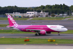delawakaさんが、成田国際空港で撮影したピーチ A320-214の航空フォト(写真)