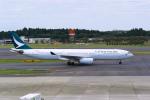 delawakaさんが、成田国際空港で撮影したキャセイパシフィック航空 A330-342の航空フォト(写真)