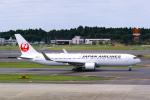 delawakaさんが、成田国際空港で撮影した日本航空 767-346/ERの航空フォト(写真)