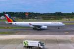 delawakaさんが、成田国際空港で撮影したフィリピン航空 A330-343Xの航空フォト(飛行機 写真・画像)