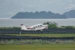 pringlesさんが、長崎空港で撮影した航空大学校 A36 Bonanza 36の航空フォト(写真)
