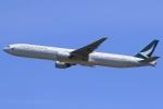 気分屋さんが、成田国際空港で撮影したキャセイパシフィック航空 777-367の航空フォト(飛行機 写真・画像)