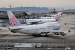 tmkさんが、関西国際空港で撮影したチャイナエアライン 747-409の航空フォト(写真)