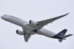 FLYING  HONU好きさんが、関西国際空港で撮影したルフトハンザドイツ航空 A350-941XWBの航空フォト(写真)