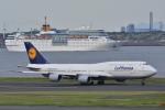 レッドベアーさんが、羽田空港で撮影したルフトハンザドイツ航空 747-830の航空フォト(写真)