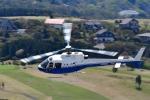 あきらっすさんが、芦ノ湖ヘリポートで撮影した東邦航空 AS350B Ecureuilの航空フォト(飛行機 写真・画像)