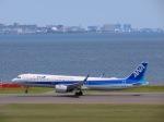 さんぜんさんが、羽田空港で撮影した全日空 A321-272Nの航空フォト(写真)