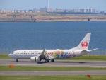 さんぜんさんが、羽田空港で撮影した日本航空 737-846の航空フォト(写真)