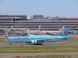 さんぜんさんが、羽田空港で撮影した大韓航空 777-3B5の航空フォト(写真)