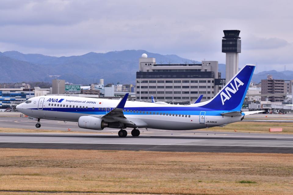 KAGURA-747さんの全日空 Boeing 737-800 (JA56AN) 航空フォト