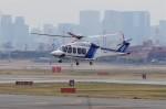 mild lifeさんが、伊丹空港で撮影したオールニッポンヘリコプター AW139の航空フォト(写真)