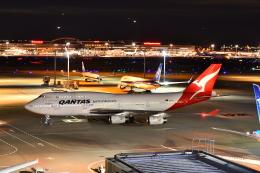 KAGURA-747さんが、羽田空港で撮影したカンタス航空 747-438の航空フォト(写真)