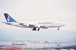 さおまるさんが、関西国際空港で撮影したアンセット・オーストラリア航空 747-312の航空フォト(飛行機 写真・画像)
