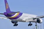 パンダさんが、成田国際空港で撮影したタイ国際航空 777-3D7の航空フォト(飛行機 写真・画像)