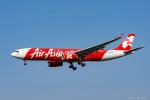 ぱん_くまさんが、成田国際空港で撮影したインドネシア・エアアジア・エックス A330-343Xの航空フォト(写真)