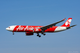 ぱん_くまさんが、成田国際空港で撮影したインドネシア・エアアジア・エックス A330-343Xの航空フォト(飛行機 写真・画像)
