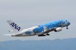 Joshuaさんが、中部国際空港で撮影した全日空 A380-841の航空フォト(写真)