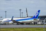 SGR RT 改さんが、成田国際空港で撮影した全日空 767-381/ERの航空フォト(写真)