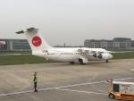 FlyHideさんが、ロンドン・シティ空港で撮影したWDLアヴィエーション BAe-146-200の航空フォト(写真)