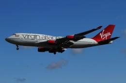 twining07さんが、ロンドン・ガトウィック空港で撮影したヴァージン・アトランティック航空 747-443の航空フォト(飛行機 写真・画像)