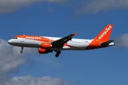 航空フォト:G-EZTB イージージェット A320
