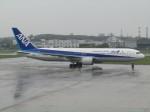 えすぷりさんが、松山空港で撮影した全日空 767-381/ERの航空フォト(写真)