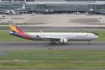 kuro2059さんが、羽田空港で撮影したアシアナ航空 A330-323Xの航空フォト(写真)