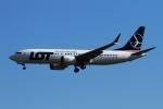 twining07さんが、ロンドン・ヒースロー空港で撮影したLOTポーランド航空 737-8-MAXの航空フォト(写真)