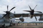 non-nonさんが、鹿屋航空基地で撮影したアメリカ海兵隊 KC-130J Herculesの航空フォト(写真)