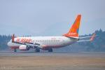 ⚓ほそっち⚓さんが、鹿児島空港で撮影したチェジュ航空 737-8LCの航空フォト(写真)