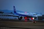 ⚓ほそっち⚓さんが、鹿児島空港で撮影した全日空 A321-272Nの航空フォト(写真)