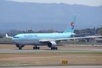 ⚓ほそっち⚓さんが、鹿児島空港で撮影した大韓航空 A330-223の航空フォト(写真)