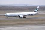 kumagorouさんが、新千歳空港で撮影したキャセイパシフィック航空 777-267の航空フォト(写真)