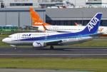 あしゅーさんが、福岡空港で撮影したANAウイングス 737-54Kの航空フォト(飛行機 写真・画像)