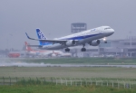 門ミフさんが、佐賀空港で撮影した全日空 A321-211の航空フォト(写真)