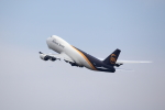 T.Sazenさんが、関西国際空港で撮影したUPS航空 747-8Fの航空フォト(写真)
