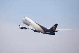 T.Sazenさんが、関西国際空港で撮影したUPS航空 747-8Fの航空フォト(飛行機 写真・画像)