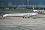 kuro2059さんが、台北松山空港で撮影した遠東航空 MD-83 (DC-9-83)の航空フォト(飛行機 写真・画像)