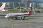 kuro2059さんが、台北松山空港で撮影した四川航空 A321-231の航空フォト(写真)