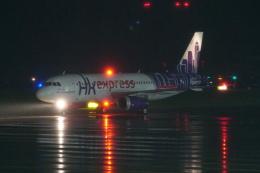 pringlesさんが、長崎空港で撮影した香港エクスプレス A320-232の航空フォト(飛行機 写真・画像)