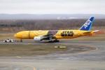 北の熊さんが、新千歳空港で撮影した全日空 777-281/ERの航空フォト(飛行機 写真・画像)