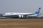 神宮寺ももさんが、広島空港で撮影した全日空 787-8 Dreamlinerの航空フォト(写真)