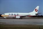 tassさんが、北京首都国際空港で撮影した中原航空 737-37Kの航空フォト(飛行機 写真・画像)
