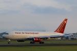 スカイチームKMJ なぁちゃんさんが、熊本空港で撮影したオムニエアインターナショナル 767-224/ERの航空フォト(写真)