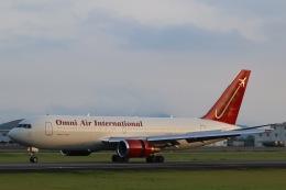 TKK744さんが、熊本空港で撮影したオムニエアインターナショナル 767-224/ERの航空フォト(飛行機 写真・画像)