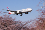 yabyanさんが、成田国際空港で撮影したアメリカン航空 777-223/ERの航空フォト(飛行機 写真・画像)
